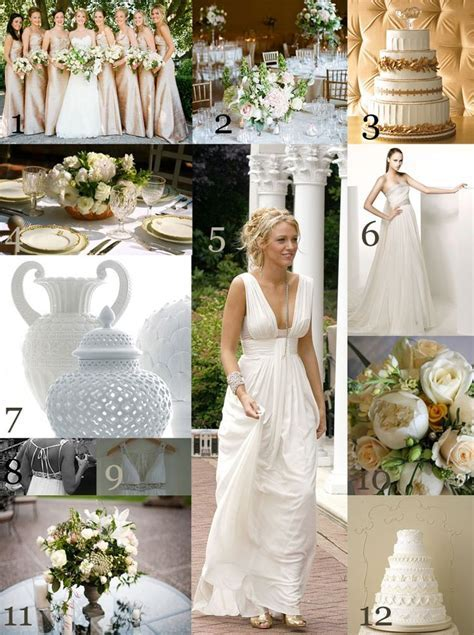 Greek Style Wedding Ideas