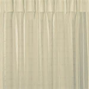 Striped Drapery Panels Buy Bergamo Striped Sheer Pinch Pleat Curtains Online