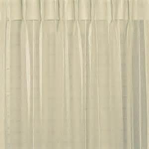 Sheer Pinch Pleat Curtains Buy Bergamo Striped Sheer Pinch Pleat Curtains Curtain