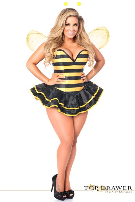 bumble bee costume satin bumble bee corset costume