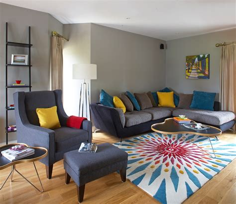 Babyzimmer Grau Gelb by Grey Yellow Teal Living Room