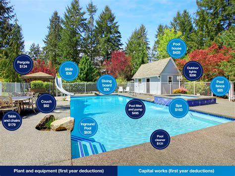 Swimming pool items that make a (tax) splash   Reno Addict