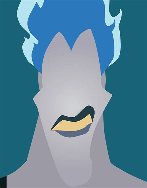 karakreative disney villains minimalist illustrations