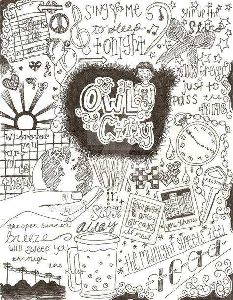 doodle doodle song owl city lyrics doodle by rinc0nley on deviantart