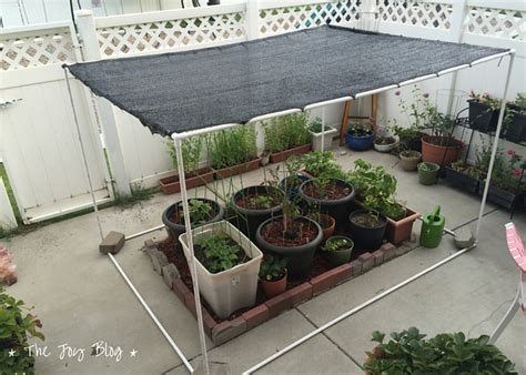 lshade diy projects diy freestanding shade canopy for garden the