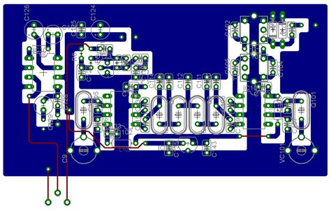 pcb design jobs home single band hf ssb cw rx no2 pcb layout