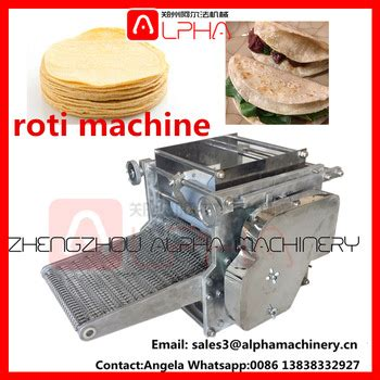 Roller Roti machine for roti prata roti maker india roti roller