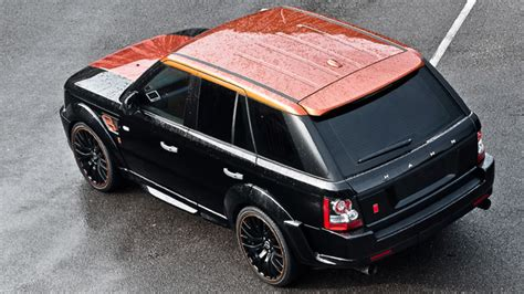 burgundy range rover black rims style icon kahn range rover sport rs300 vesuvius edition