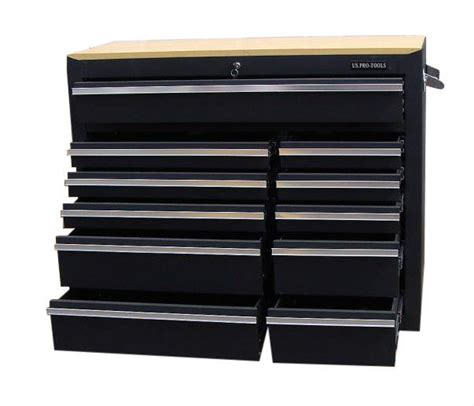 tool cabinet with wood top professional roller cabinet tool box 42 quot us pro tools