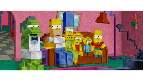 simpsons minecraft couch gag minecraft couch gag bei den simpsons news gamersglobal de