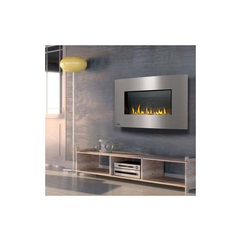 Gas Fireplace Wall Vent by Napoleon Whvf31n Slate Brick Panel 20000 Btu Wall Mount