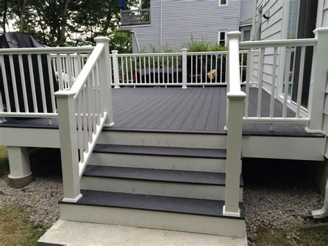 gray deck trex winchester grey google search driveway