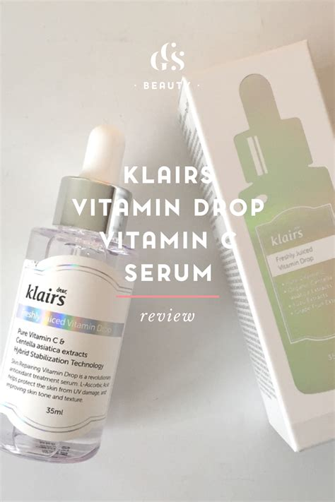 Serum Klairs klairs vitamin drop vitamin c serum review currently testing citygirlsearching