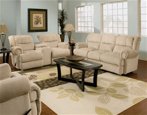 double reclining sofa with fold down table evans double reclining sofa w fold down tray table by