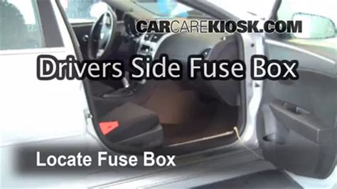 interior fuse box location: 2008 2012 chevrolet malibu