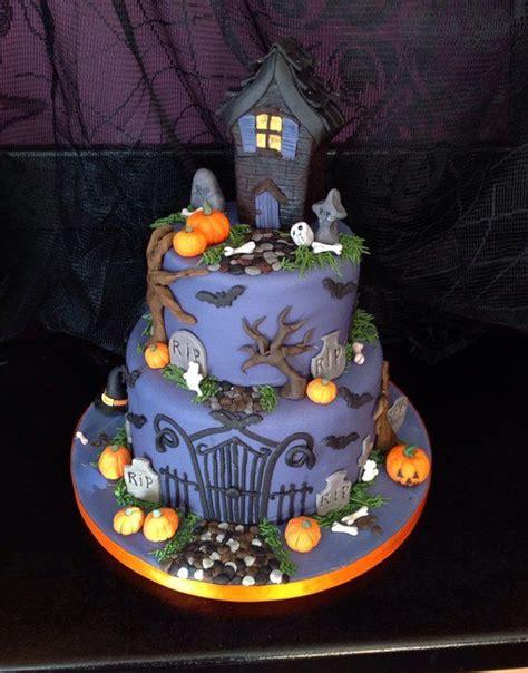 best 25 haunted house cake ideas on haunted