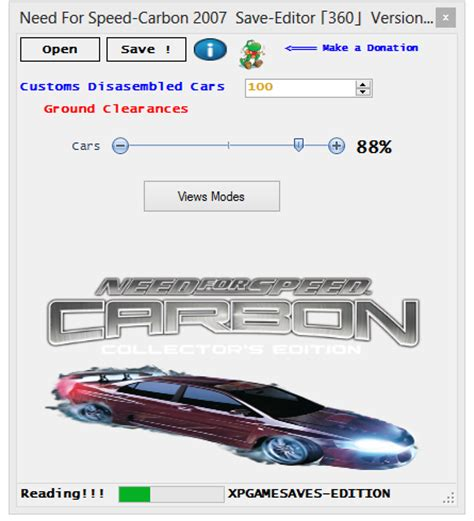 game mod tools xbox 360 need for speed carbon save editor new xbox 360 mod