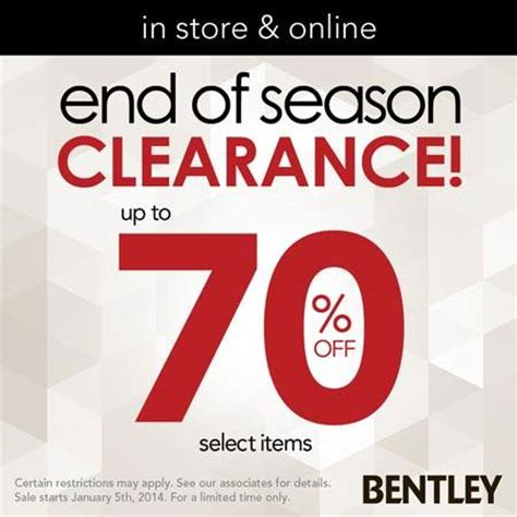 bentley store coupons
