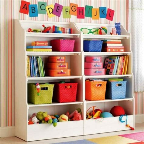 10 great and colorful kids bookshelves rilane