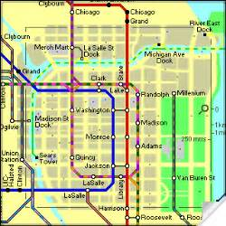 Chicago Metro Map by Chicago Metro Map Map Travel Holiday Vacations