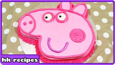 peppa pig birthday cake diy quick  easy recipes fun food  kids cooking  children