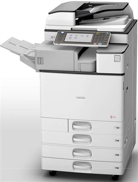 Ricoh Aficio MP C2003 Multifunction Color Copier - CopyFaxes