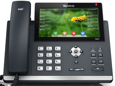 Touch Screen Advance T2c colour touch screen the premium yealink t48g