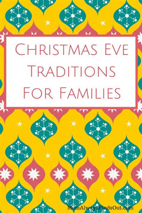 traditions for families traditions for families always finds out