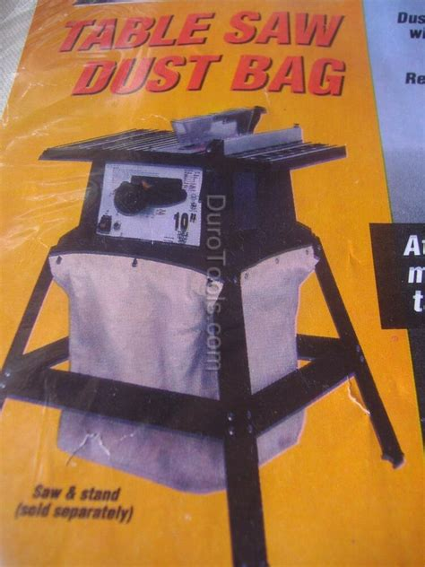 table  dust collector collection bag  stands skil