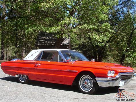 Auto Horn Landau by 1964 Ford Thunderbird Red White Landau Top 390