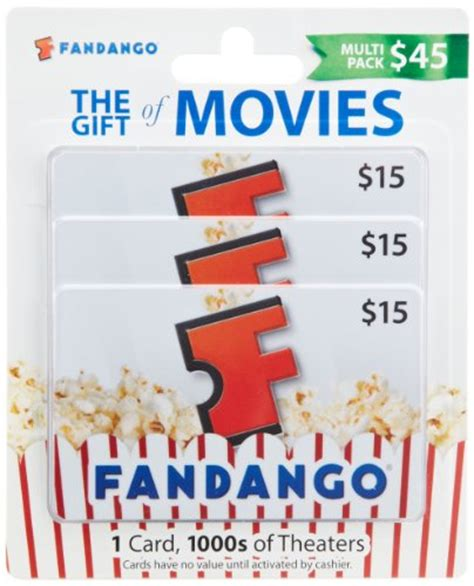 Can I Use Fandango Gift Card At The Theater - www fandango com gift card balance