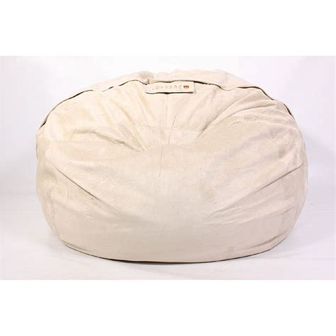 lovesac overstock lovesac 8 foot foam bigone mushroom lounge bag chair