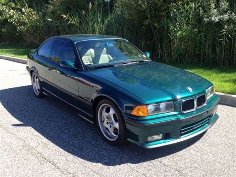 luxury bmw m3 bmw m3 base 2dr std e36 m3 boston green luxury