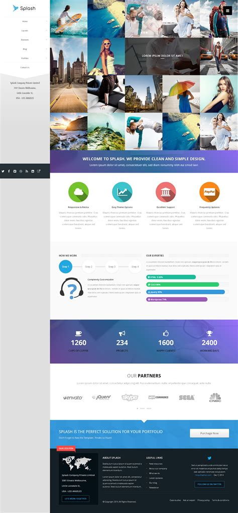 splash bootstrap responsive multi purpose html5 by