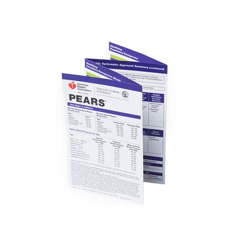 Template For Pocket Reference Card by Pears Pocket Reference Card Aacn