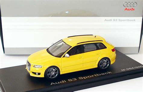 Audi S3 Datenblatt by 1 43 Audi S3 Sportback Imolagelb Werbemodell Looksmart
