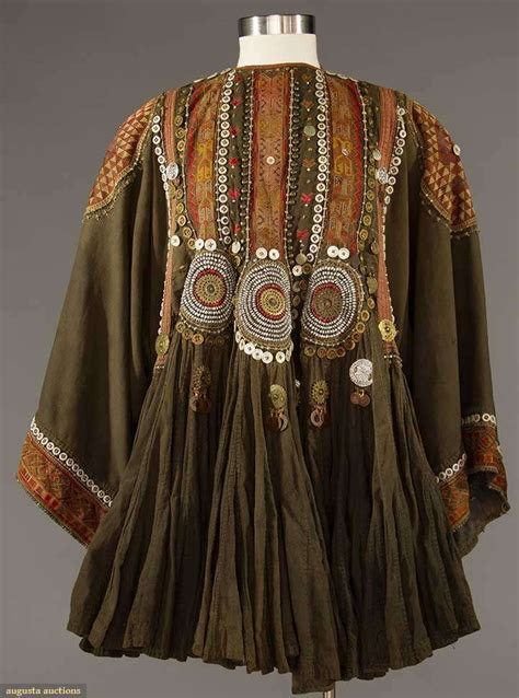Bt11859 Maroon Tribal Chika Dress s jumlo top pakistan black cotton w burgundy embroidery silver coins m