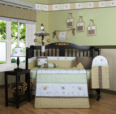 Bee Crib Bedding Geenny Bumble Bee 13pcs Crib Bedding Set