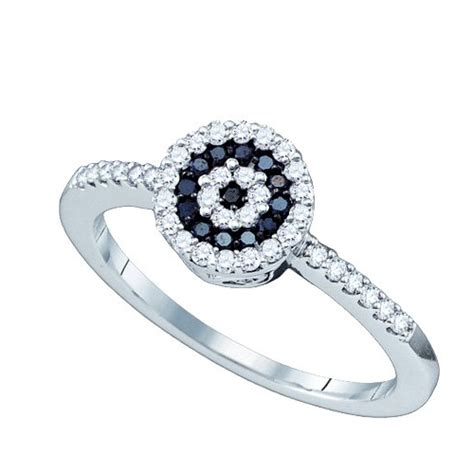 black engagement ring a halo approach