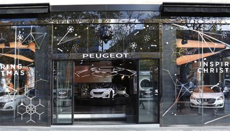peugeot christmas peugeot fractal and artoyz leoz s move into peugeot avenue
