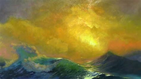 clipart aivazovsky ivan the ninth wave painting aivazovsky s the ninth wave at allartclassic