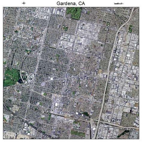 Gardena Ca On A Map Aerial Photography Map Of Gardena Ca California