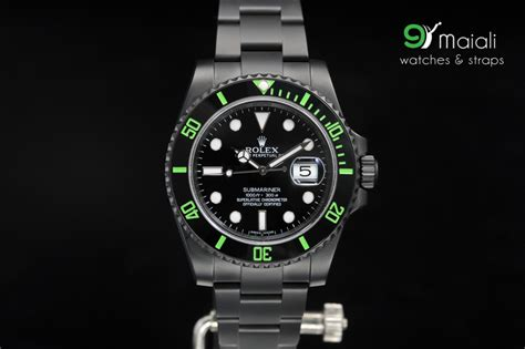 Lv 01 Rosegold Limited rolex submariner green ceramic bezel ref 116610lv 40mm