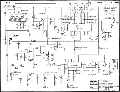 frequency synthesizer circuit diagram ht220 frequency synthesizer