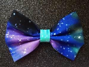 Monogram Gold Necklace Hair Bow Space Galaxy Stars Scene Emo Grunge Hair Clips Ebay