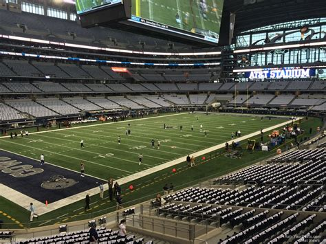 cowboys stadium sections at t stadium section 217 dallas cowboys rateyourseats com
