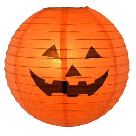 how to make a pumpkin lantern happy o lantern pumpkin paper shade lantern 16 quot dia