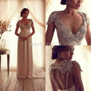 anna campbell 2015 luxury hollow wedding dresses backless