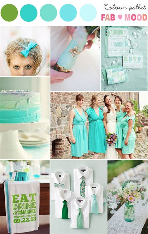 aqua green wedding ideas aqua green wedding colors