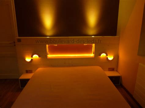 lumiere pour chambre chambre 233 clairage led orange